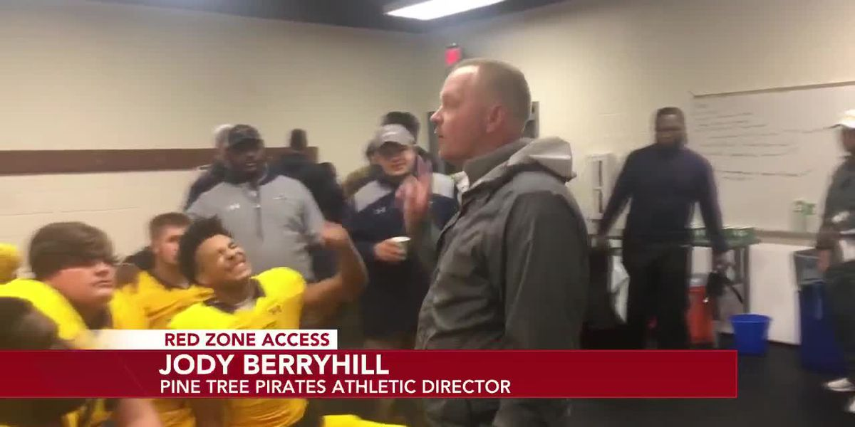 RED ZONE ACCESS WEEK 9: PINE TREE PIRATES ATHLETIC DIRECTOR JODY BERRYHILL