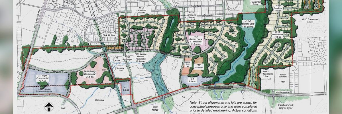 Tyler City Council to vote on controversial proposal for new housing development