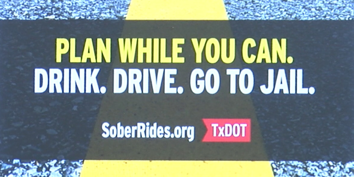 TxDOT reminds drivers to plan sober rides ahead of spring break
