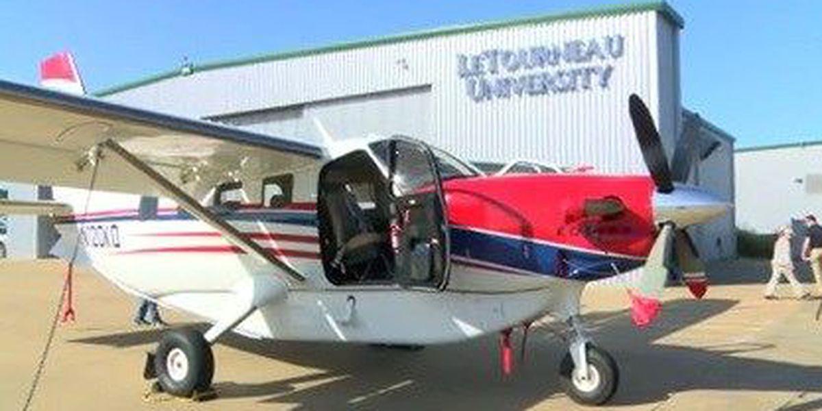 LeTourneau alum brings modified plane to university