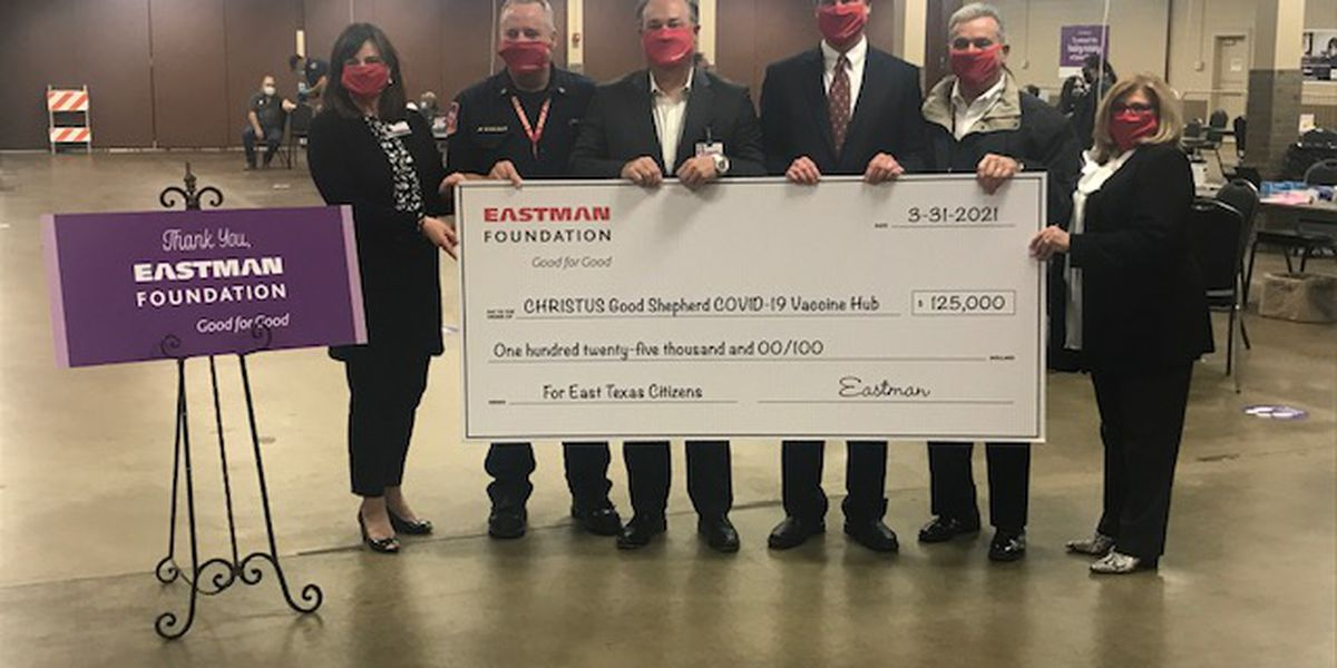 Eastman Foundation makes $125K donation to CHRISTUS Good Shepherd for vaccine hub
