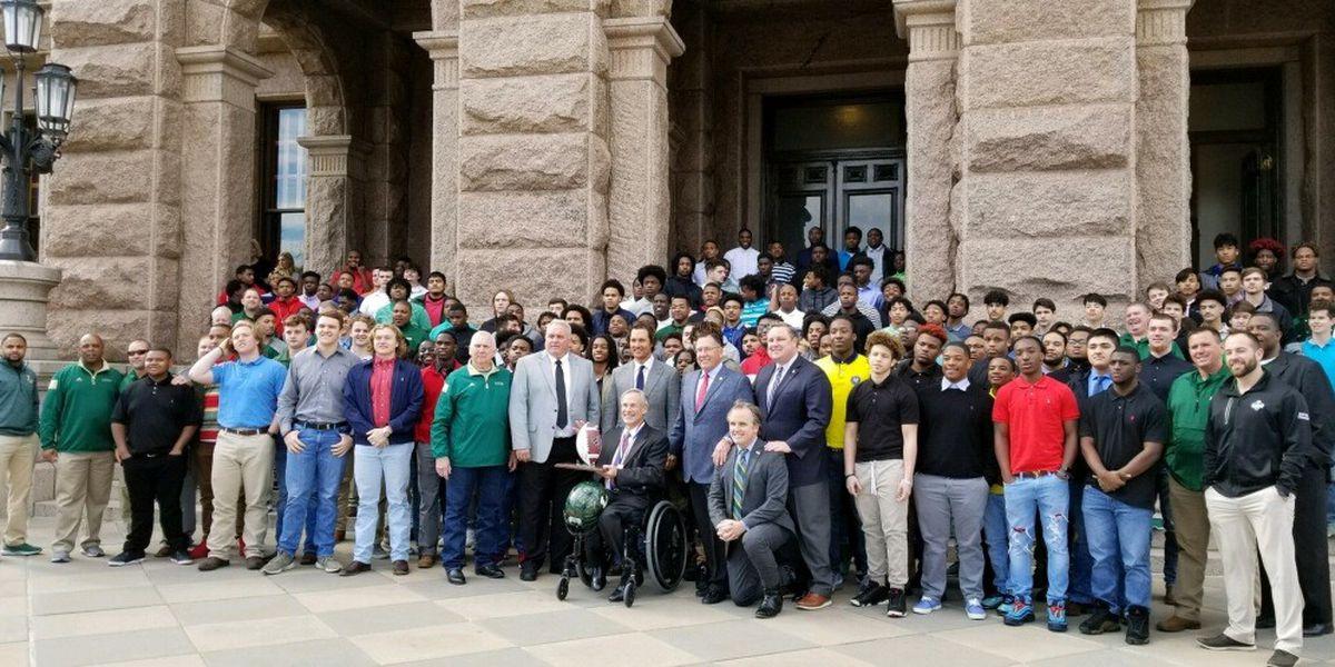 Legislators honor Longview Lobos in Austin