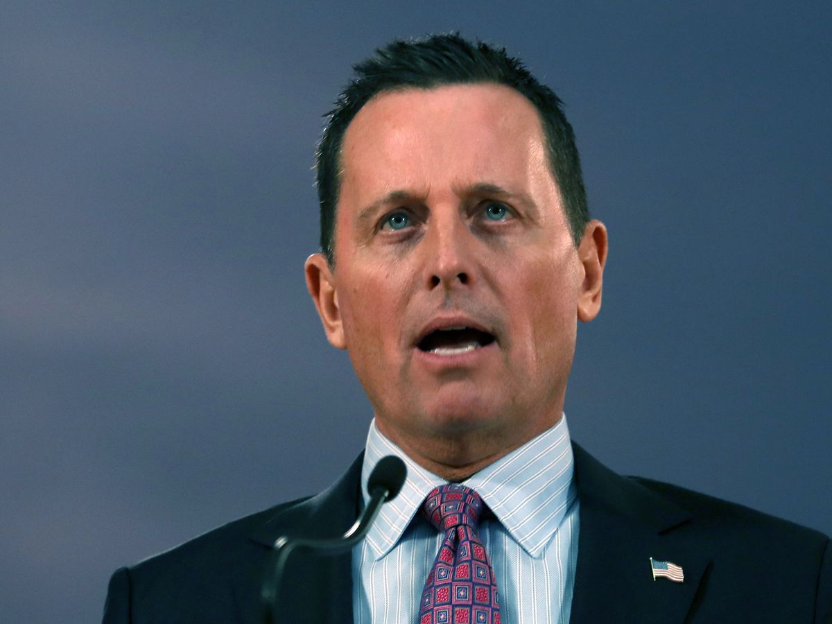 Trump taps loyalist Grenell as nation's top intel official