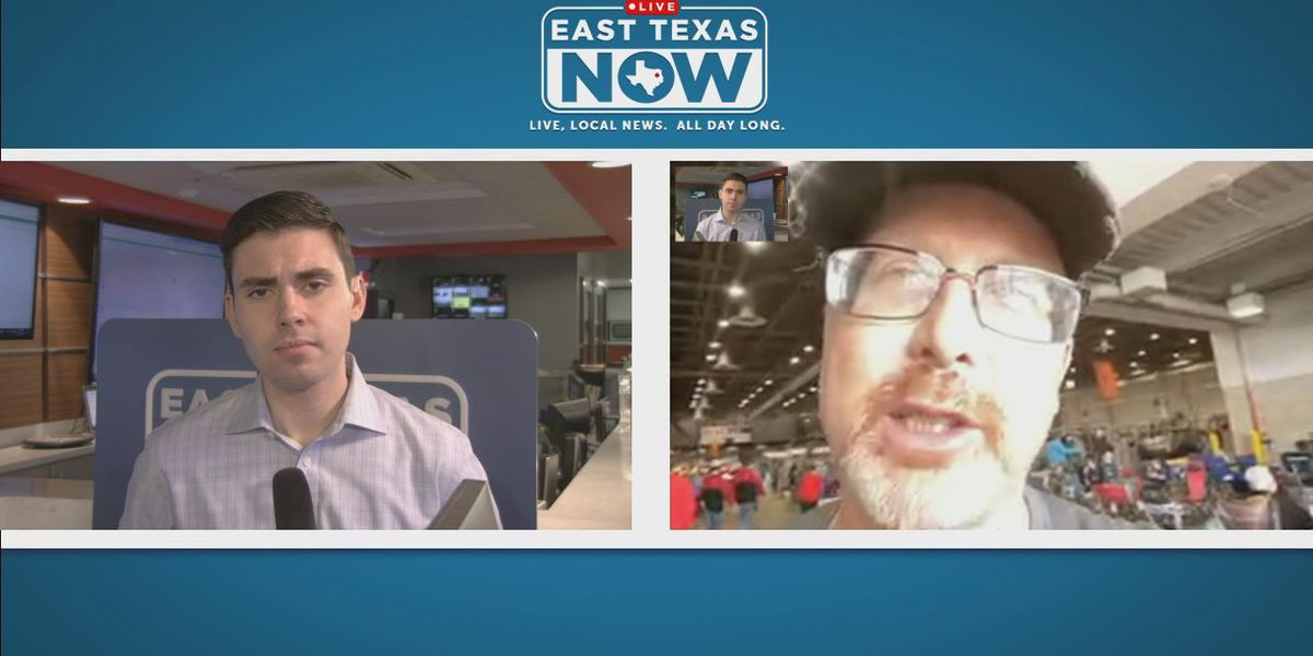 WATCH: East Texas agriculture teacher reacts to cancellation of Houston Livestock Show and Rodeo