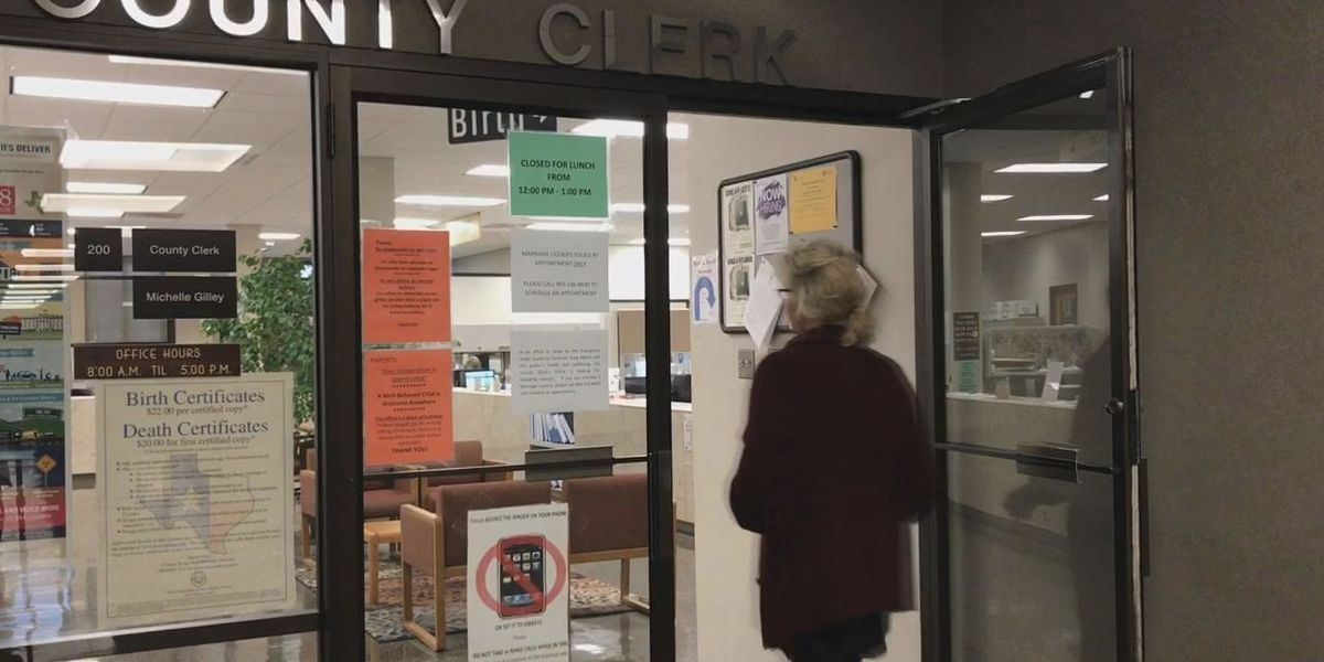 Gregg County clerk: Make appointment for marriage license, other documents