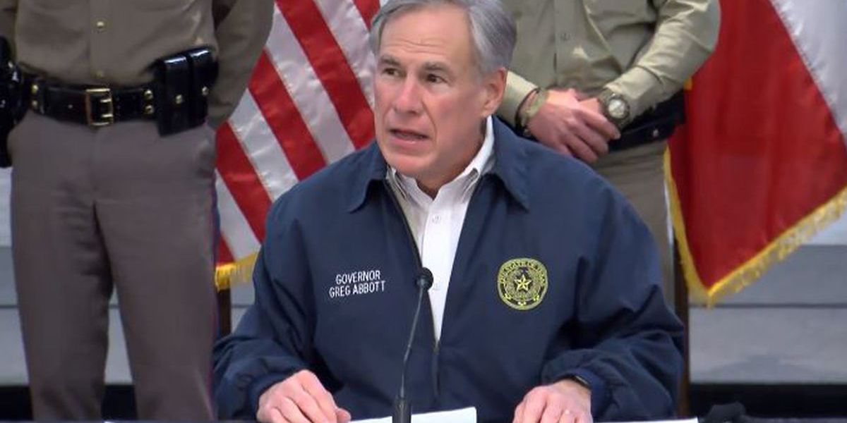 Gov. Greg Abbott requests Major Disaster Declaration to provide individual, public assistance in wake of massive outages