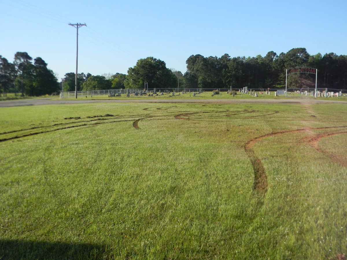 Titus County church and cemetery grounds damaged by vandals