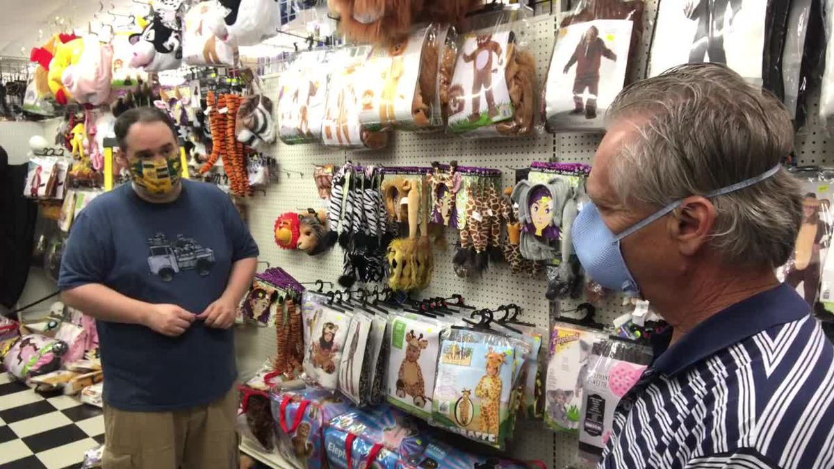 WEBXTRA: Longview retailer discusses Halloween costume shortage, changes due to COVID-19