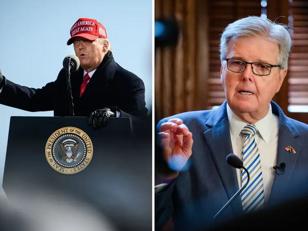 Donald Trump endorses Texas Lt. Gov. Dan Patrick for reelection