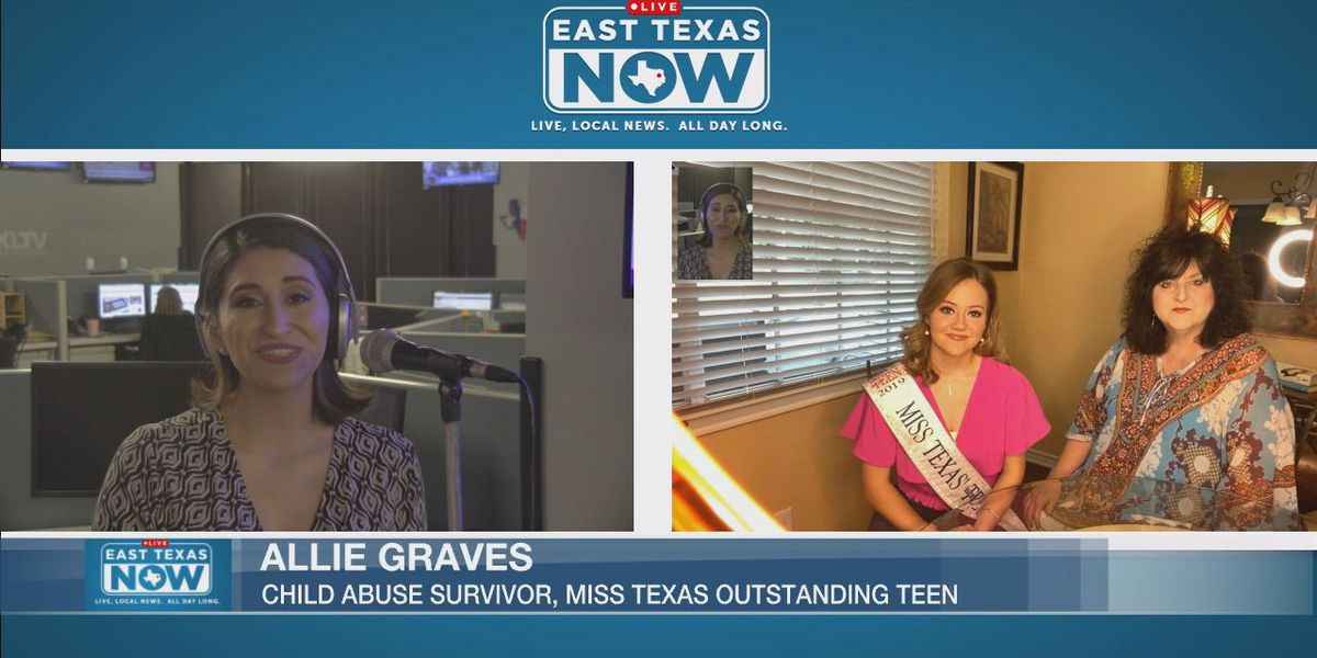 """Abuse survivor, Miss. Texas' Outstanding Teen urges everyone to """"walk a mile"""" for children"""