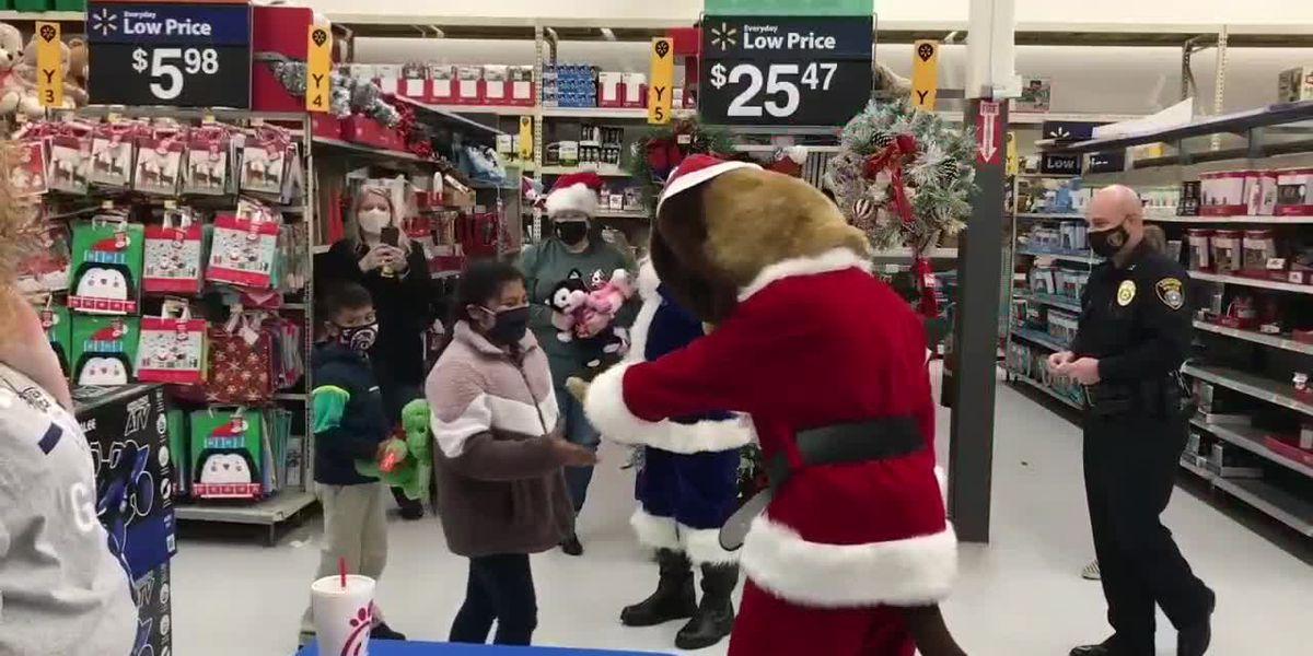 Longview's Blue Santa took on fun new twist for 2020