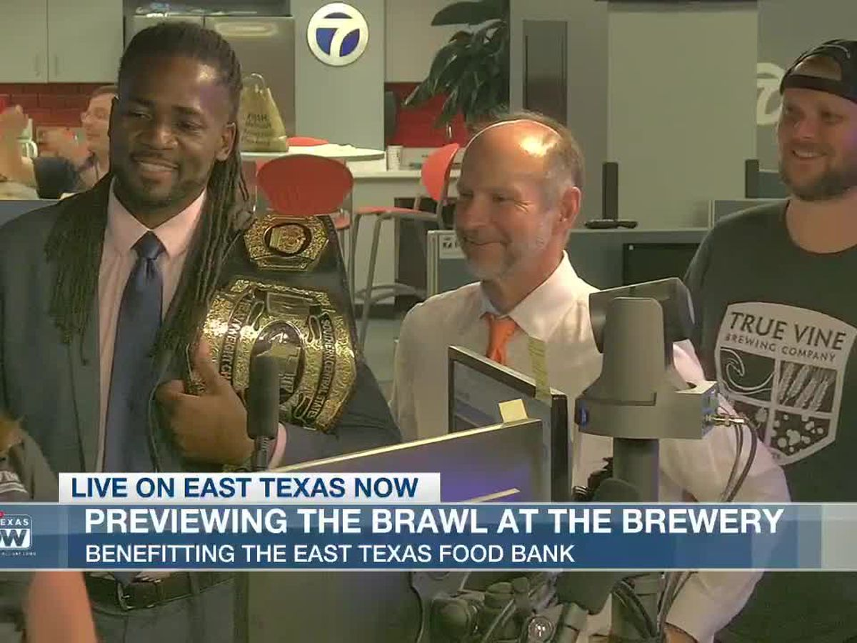 Pro-wrestling 'Brawl at the Brewery' to benefit the East Texas Food Bank