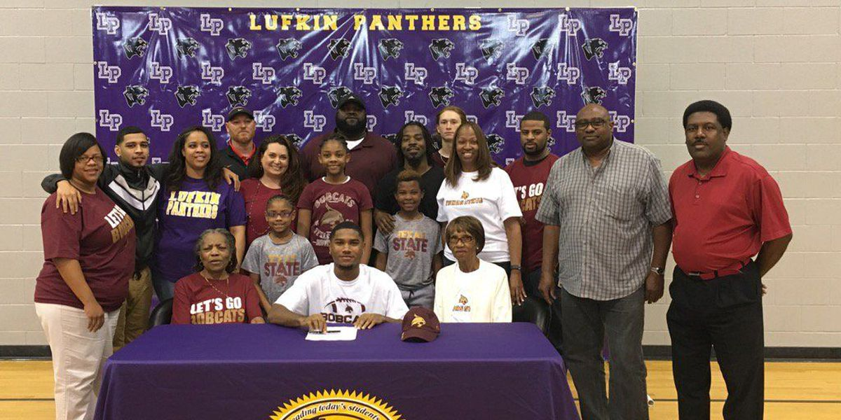 Lufkin QB signs with Texas State