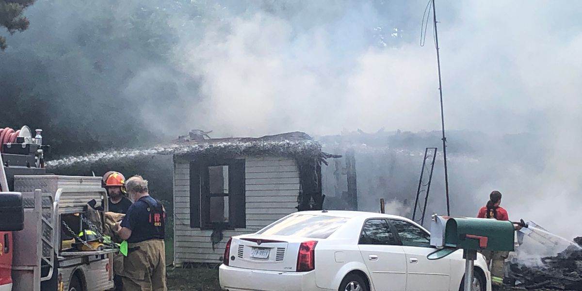 Fire destroys Rusk County home