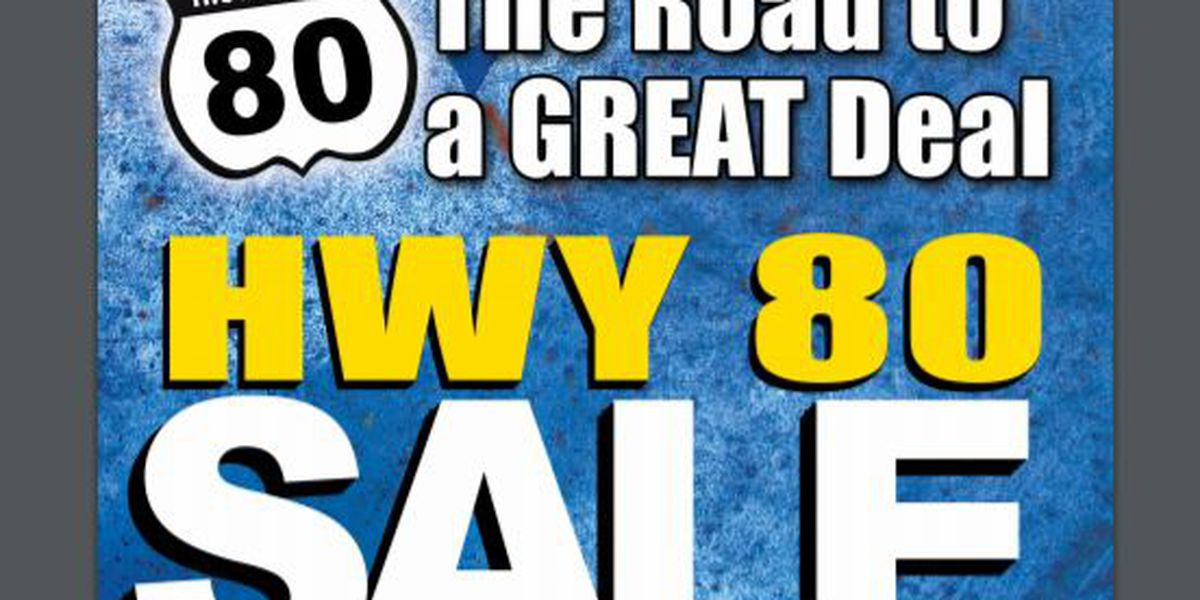 Hiway 80 sale returns this weekend for shoppers on the hunt for bargains