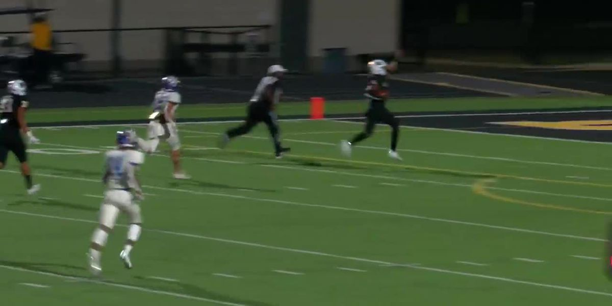 WATCH: Nacogdoches strikes early, on defense