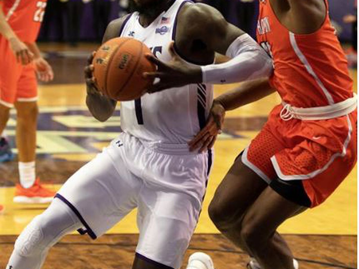 SFA's Kevon Harris declares for the NBA Draft