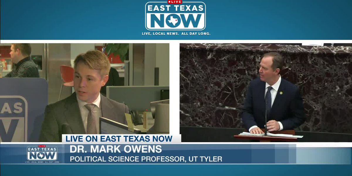 WATCH: UT Tyler political science professor discusses impeachment trial, presidential campaign