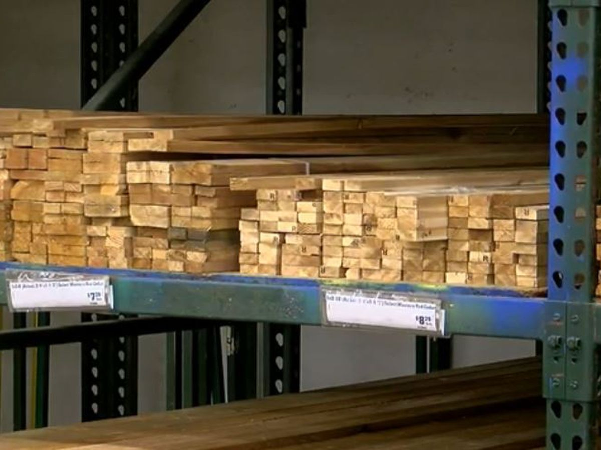 East Texans discuss soaring price of lumber, that trend's impact on homeowners