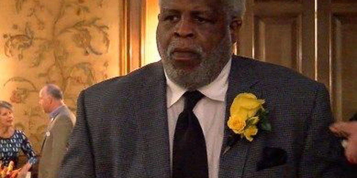 Earl Campbell talks Longhorns football at Award ceremony