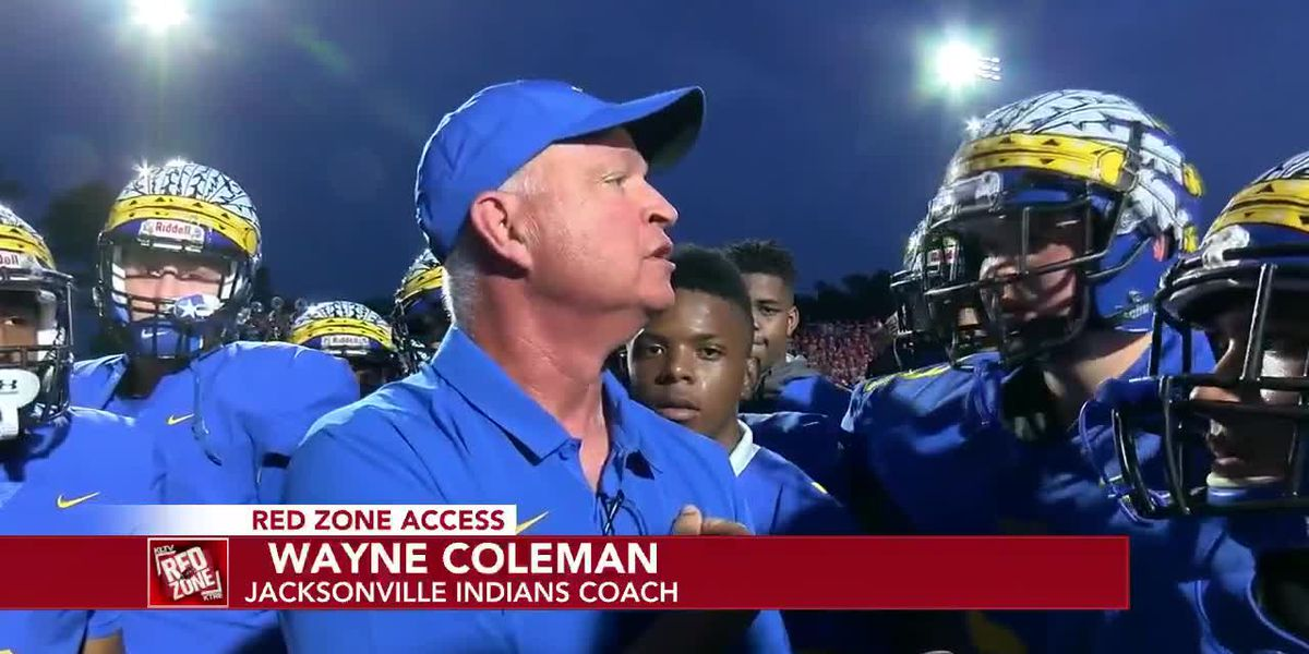 Red Zone Access Week 1: Jacksonville Indians Coach Wayne Coleman