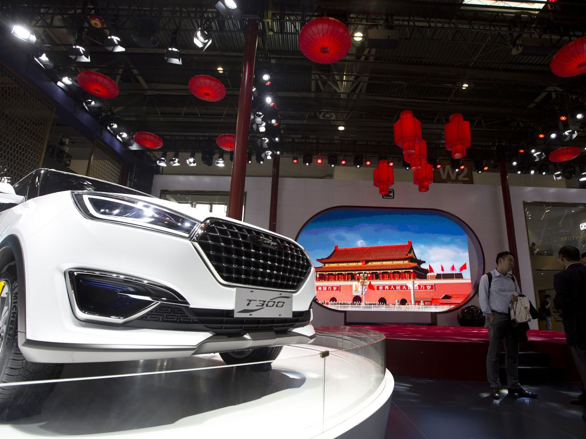 Chinese automaker Zotye plans to sell vehicles in US in 2020