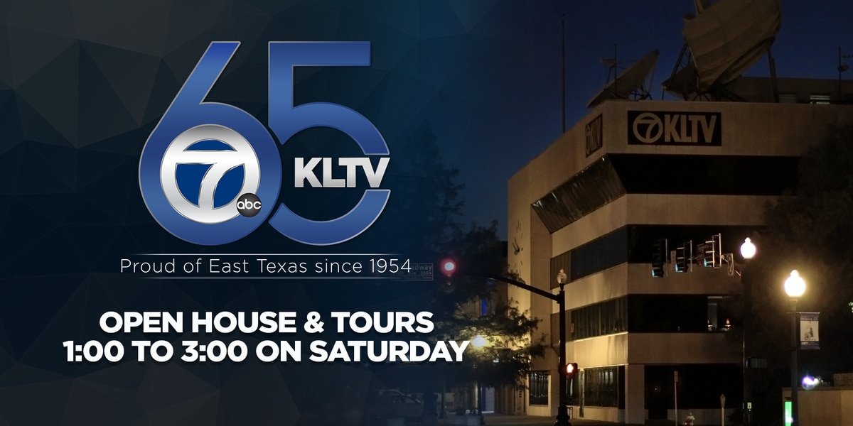 KLTV celebrates 65 years with open house, tours