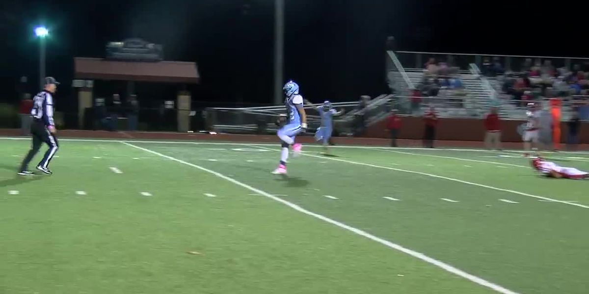 WATCH: West Rusk gets off to a fast start with this long pass and run - clipped version