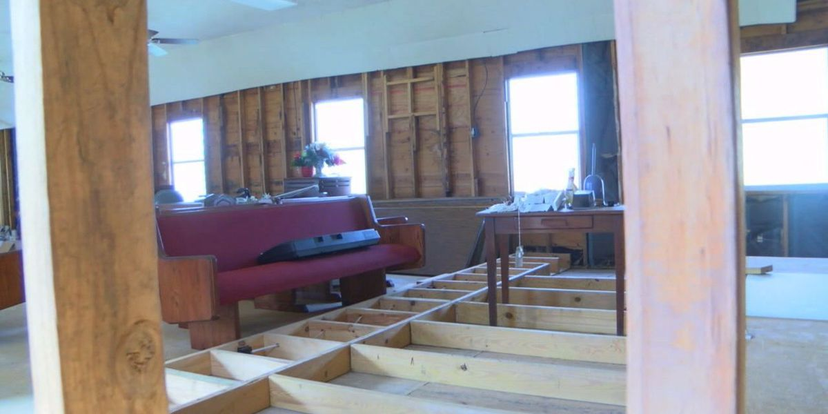 Hallsville church struggles with repairs year after devastating flood