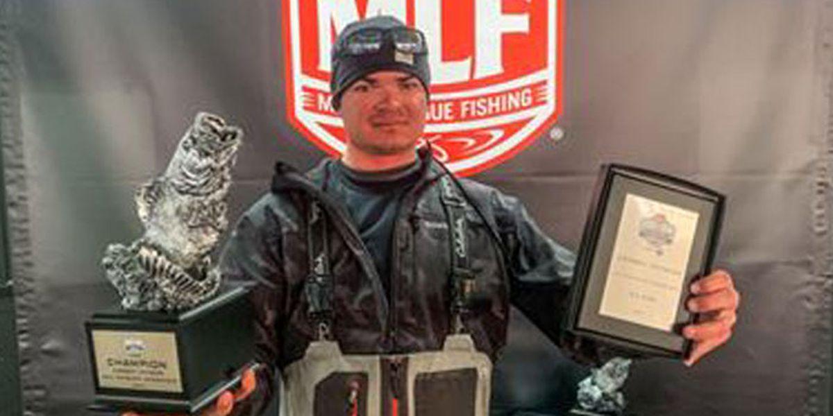 Broaddus man wins 2021 Phoenix Bass Fishing season opener on Sam Rayburn