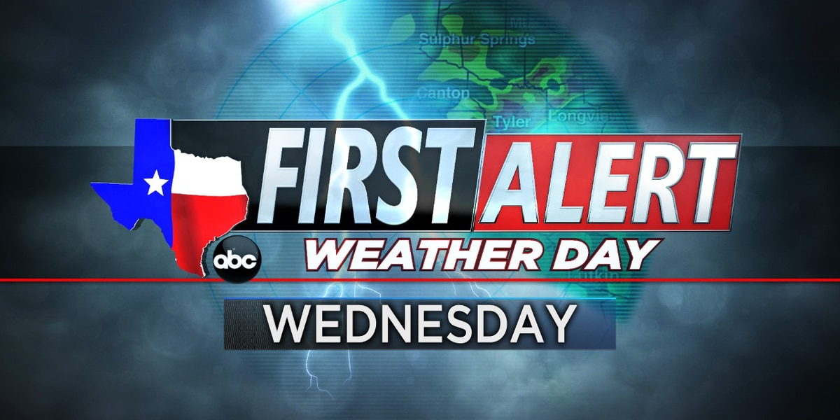 First Alert Weather Day in effect for Wednesday evening