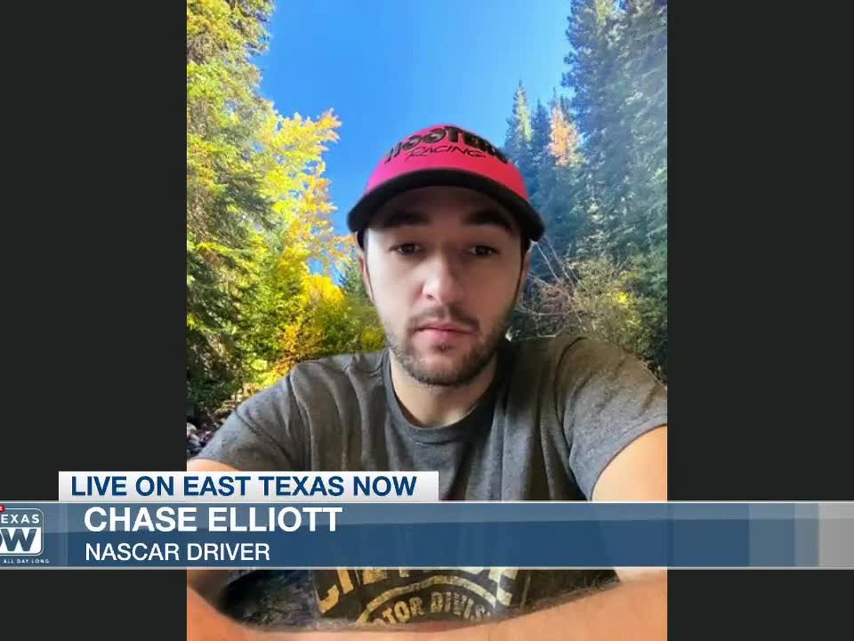 WATCH: Q&A with NASCAR driver Chase Elliott