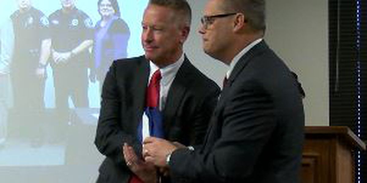 WEBXTRA: Don Martin, Public Information Officer with Tyler PD retires
