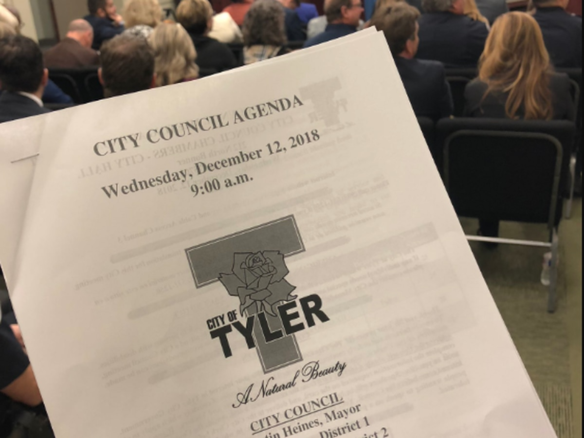 7OnScene: Tyler City Council Meeting, Dec. 12