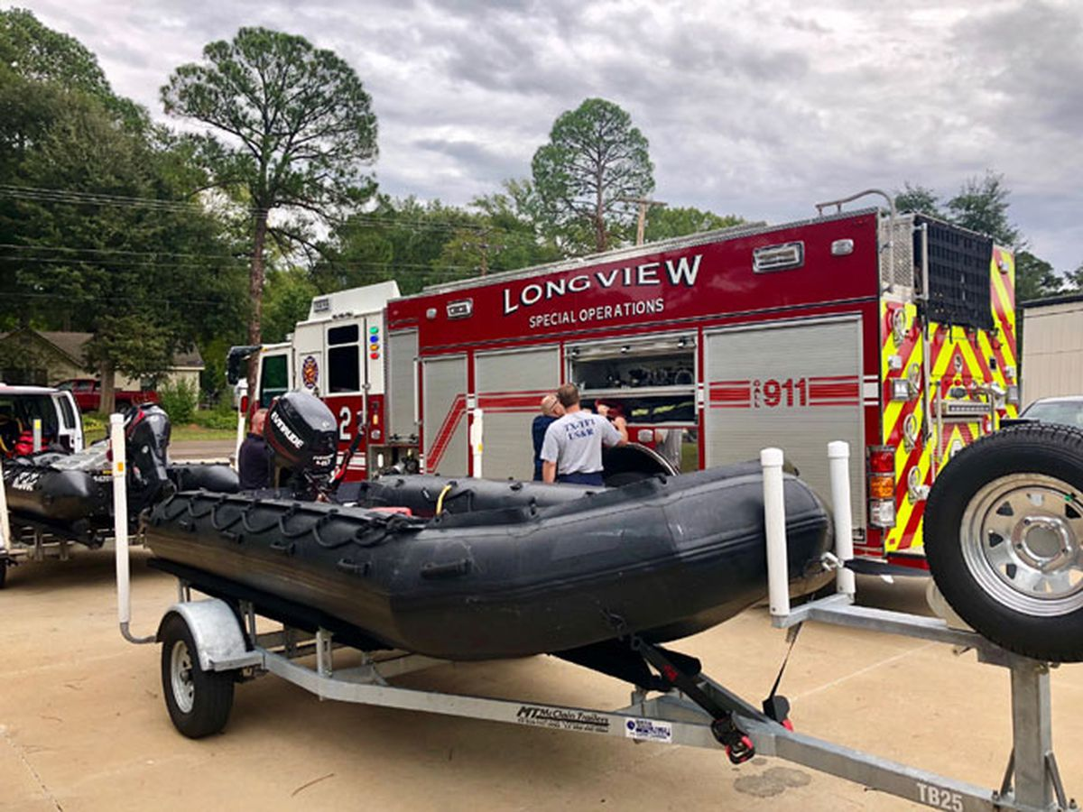 State organization activates Longview Fire Department's Water Rescue Team