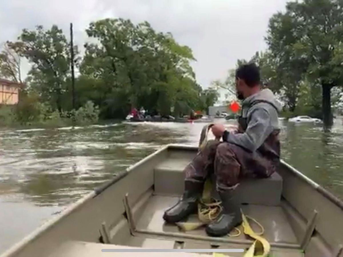 Longview man helping with flood rescue efforts in southeast Texas
