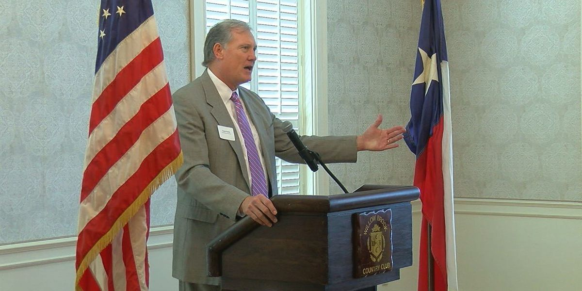 Representative Travis Clardy is guest speaker at TABA's luncheon