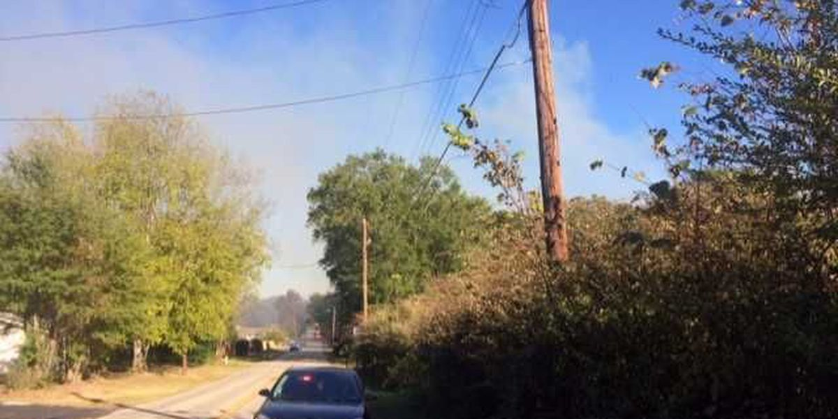 Gregg County: Fire north of Longview cause 'points to power lines, high winds'
