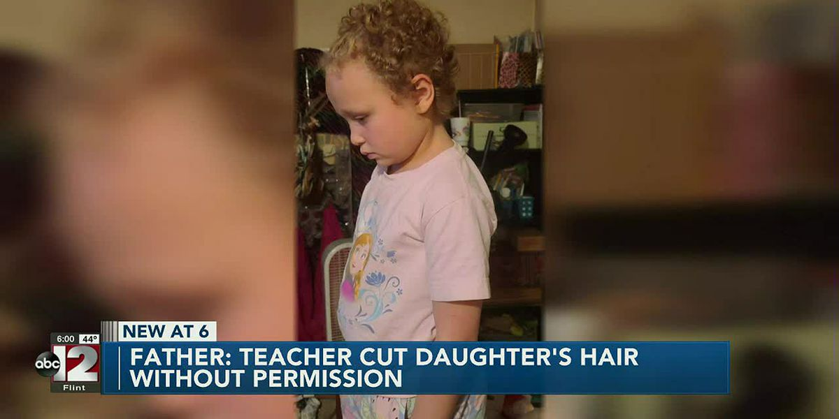 Father demands answers after teacher cuts his 7-year-old daughter's hair