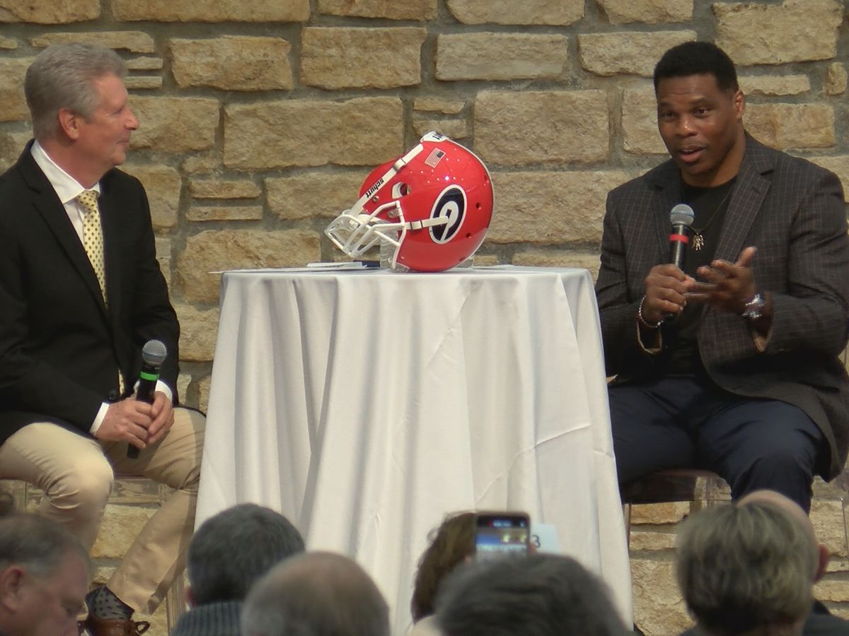 1982 Heisman Trophy winner Herschel Walker featured at The Bridge's Heroes and Legends