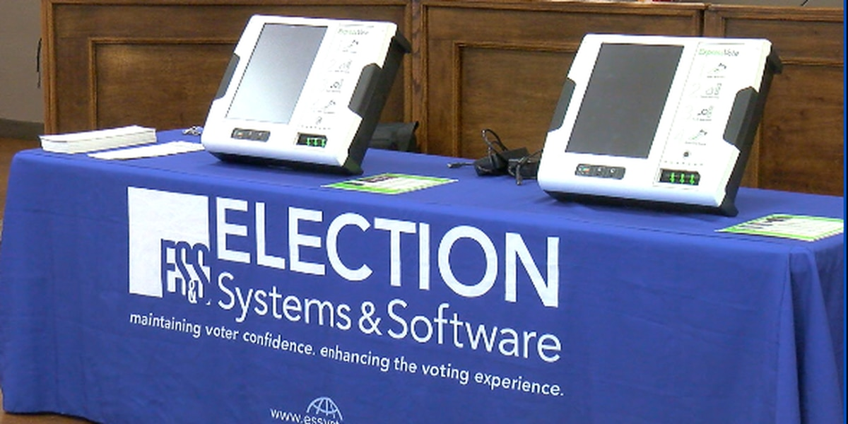 Potential new voting machines help visually impaired community