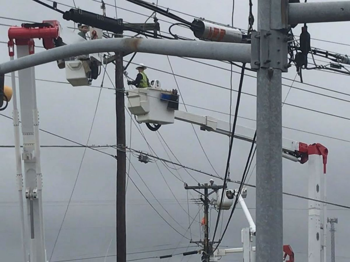 Multiple transformers blow causing widespread power outage in Kilgore
