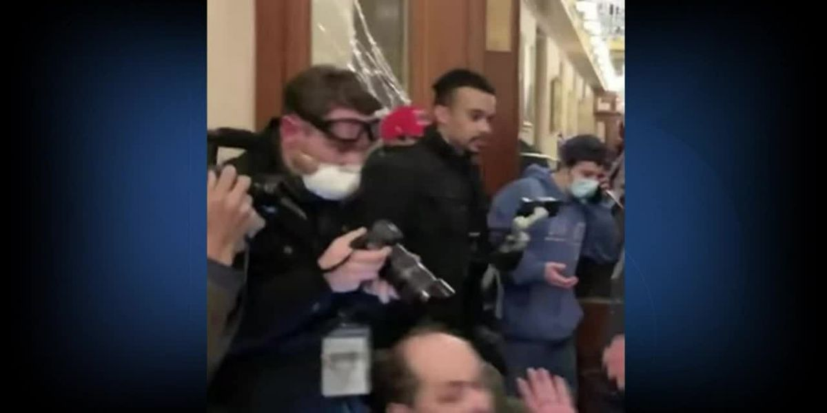 Utah activist who filmed Capitol shooting booked into jail