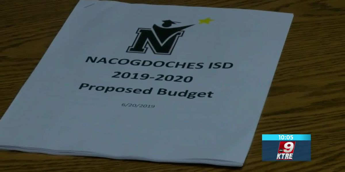 Nacogdoches ISD board works to finalize lower tax rate following passage of Texas school finance bil