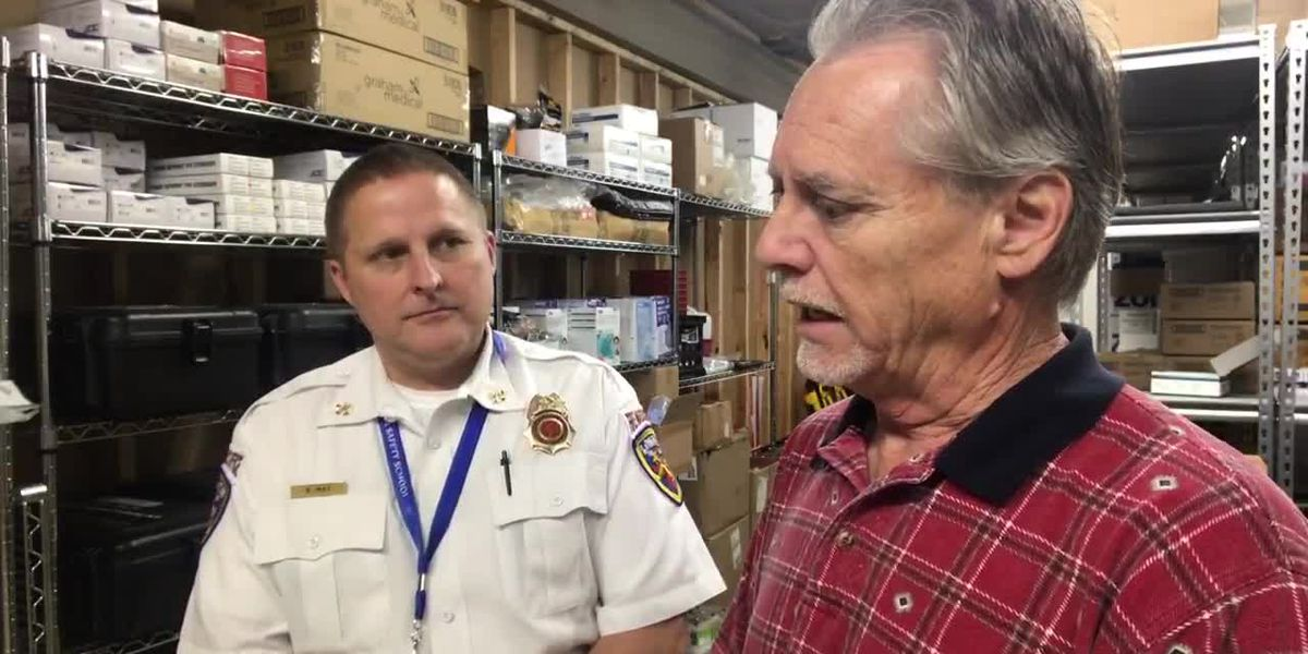 Longview fire marshal discusses supply of protective equipment for EMS