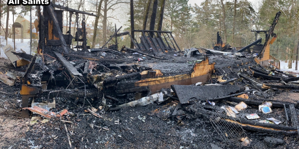 All Saints Outdoor Learning Center destroyed by fire during winter storm