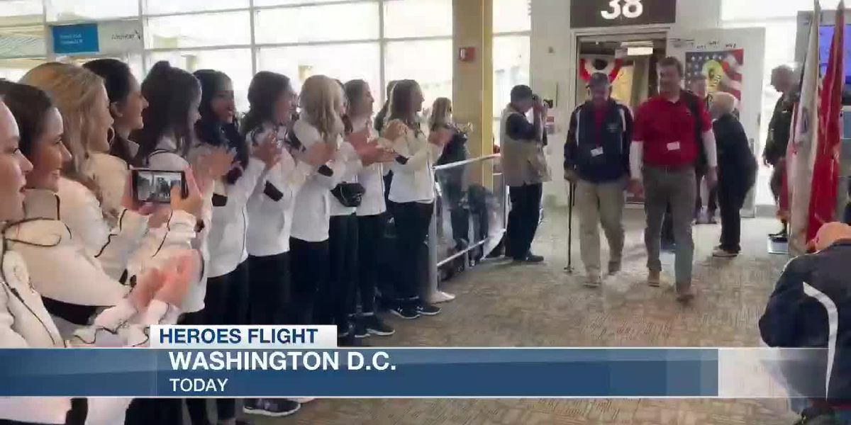 HEROES FLIGHT: Reagan National Airport arrival and welcome