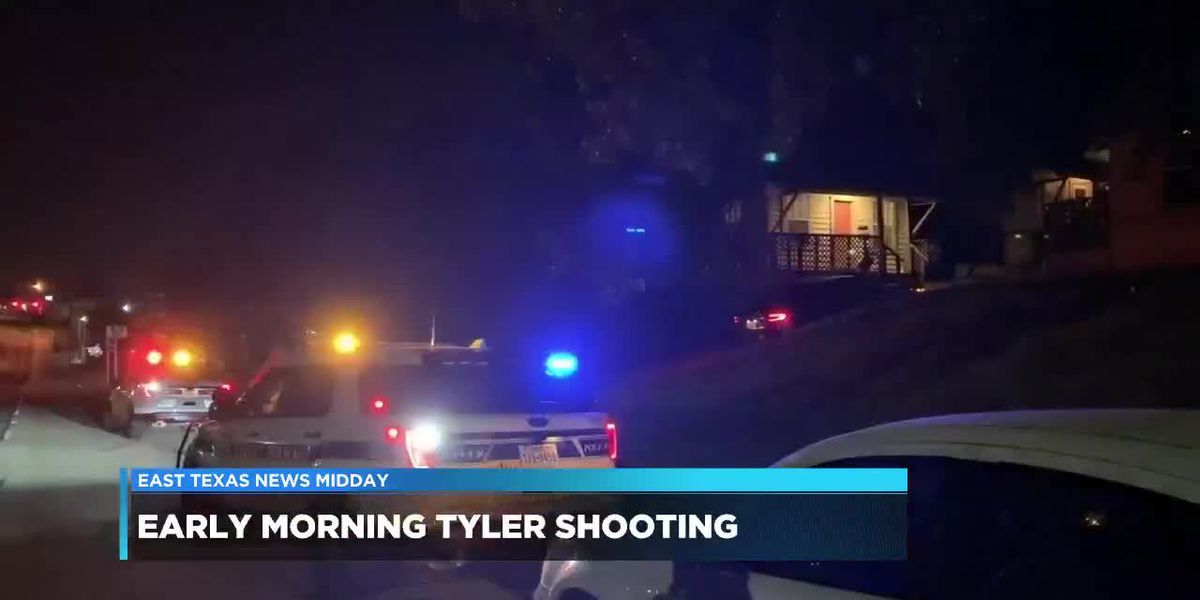 Tyler police search for suspect in early morning shooting