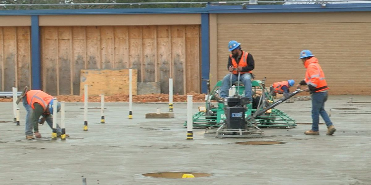 'Big milestone' reached in construction of John Tyler HS, project on track at REL
