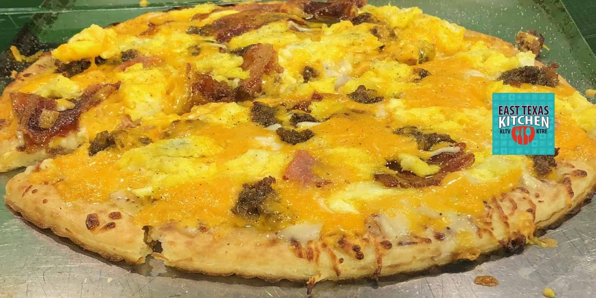 Back-to-School breakfast pizza by Chef David Wallace